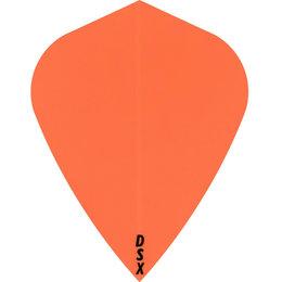 Plain Orange DSX Kite