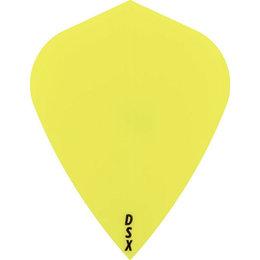 Plain Yellow Neon DSX Kite