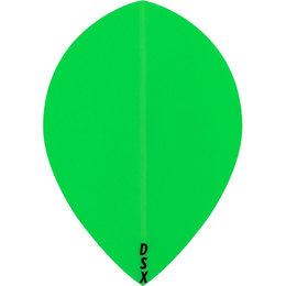 Plain Green Neon DSX Teardrop