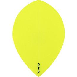 Plain Yellow Neon DSP Teardrop
