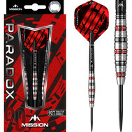 Mission Paradox Curved M2  Electro Black & Red 22g