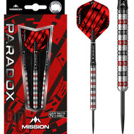Mission Paradox Straight M1  Electro Black & Red 25g