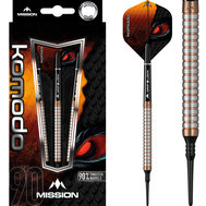 Mission Komodo RX Straight M1 Micro Grip  Rose Gold SOFTTIP 18g
