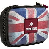 Mission Freedom XL Darts Case Vintage Union Jack