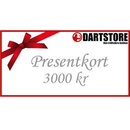 Gift card 3000 kr
