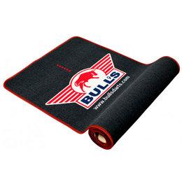 Bulls matta med röd kant Soft 300x65