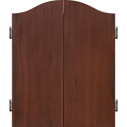 Mission Deluxe Dartboard Cabinet Rosewood