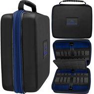 Mission Freedom Luxor Darts Case Black/Blue