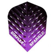 Harrows Dimplex Sparkle Fade Black & Purple