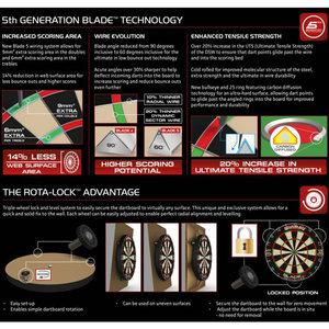 Winmau Dartboard Blade 5 Rota Lock