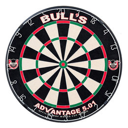 Bulls Dartboard Advantage 5.01 Incl. rotating bracket