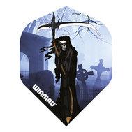 Winmau Mega Standard Blåa Grim Reaper