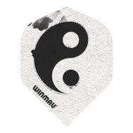 Winmau Mega Standard Vita & Svarta Yin & Yang