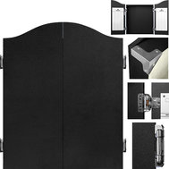 Mission Deluxe Dartboard Cabinet Black