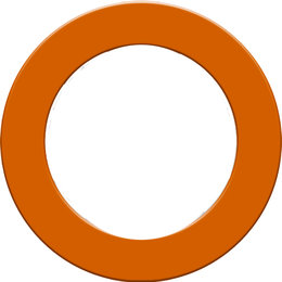 Designa Dartboard Surround  Orange