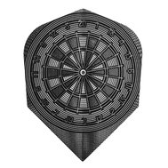 Harrows Quadro Dartboard Grey