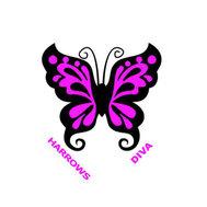 Harrows Diva Butterfly Shape NO6