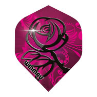 Winmau Mega Standard Rosa & SvartaRose