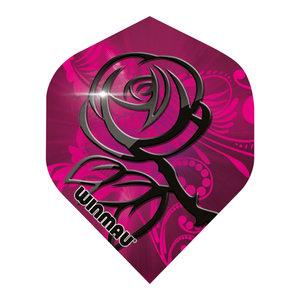 Winmau Mega Standard NO2 Rosa & Svarta