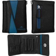 Mission Flint Darts Wallet  Black & Blue