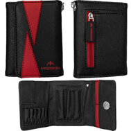Mission Flint Darts Wallet  Black & Red