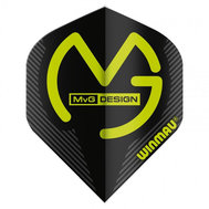 Winmau  Michael Van Gerwen Mega Standard NO2 Design Svart