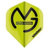 Winmau  Michael Van Gerwen Mega Standard NO2 Design Gröna