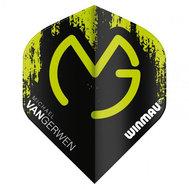 Winmau  Michael Van Gerwen Mega Standard NO2 Svart