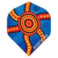 Deadeye Aboriginal  Blåa Star