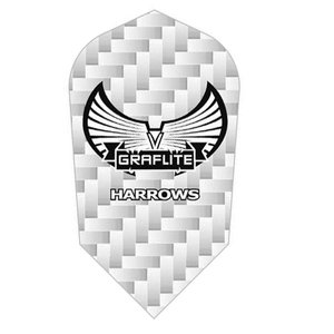 Harrows Graflite White Slim