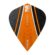 Target RVB Vision Ultra Svart/Oranga Curve Kite