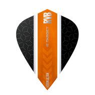 Target RVB Vision Ultra Svart/Oranga Stripe Kite