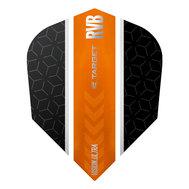 Target RVB Vision Ultra Svart/Oranga Stripe Shape NO6
