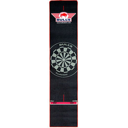 Bulls Dart mat with red border With built in Oche  300x65