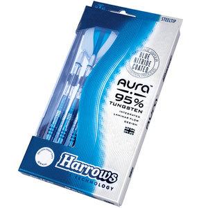 Harrows Aura Blue Nitride Straight 22g A2