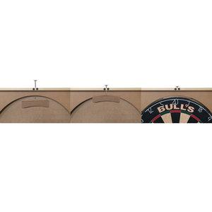 Bulls Deluxe Cabinet Light Oak