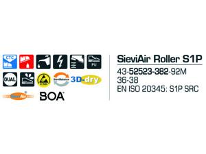 Sievi Air Roller S1P