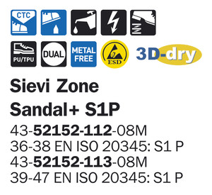 Sievi Zone Sandal S1P