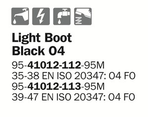 Light Boot Black O4
