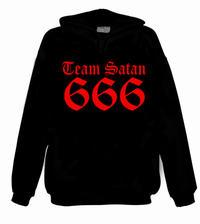 Team Satan 666 (rött tryck) [Hood]