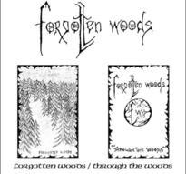 Forgotten Woods - Forgotten Woods/Through the Woods [CD]