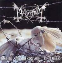 Mayhem - Grand Declaration of War [CD]