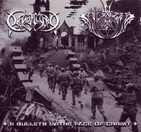 Daemonlord/Satanizer - 9 Bullets in the Face of Christ [CD]