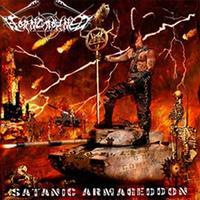 Horncrowned - Satanic Armageddon [CD]