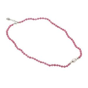 Pearls for Girls halsband och armband, set rosa