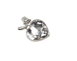 Pearls for Girls. Berlock glashjärta