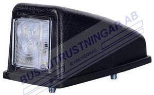 Positionslykta LED för tak vit