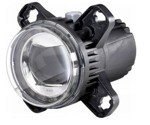 Halvljusstrålastare LED