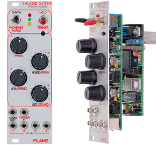 FLAME TALKING SYNTH MODULE