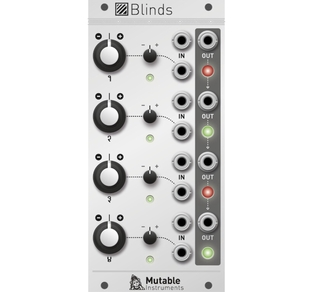 MUTABLE INSTRUMENTS - BLINDS
